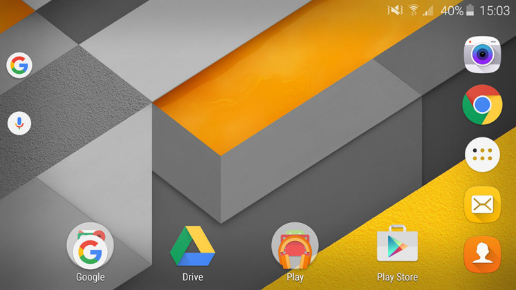 google now launcher home screen