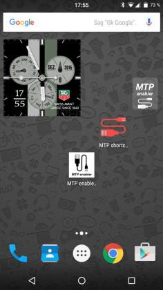 mtp enabler widget