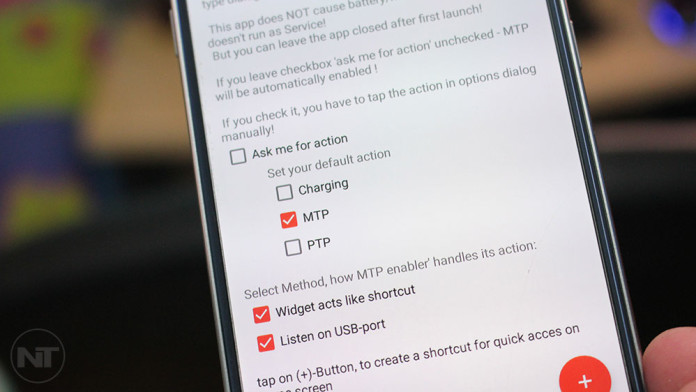 mtp mode android marshmallow