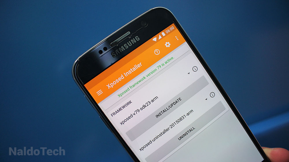 Install Xposed Installer APK Material Design on Android 6 0