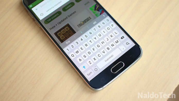 Galaxy S7 Apps Launcher Keyboard Weather Widget