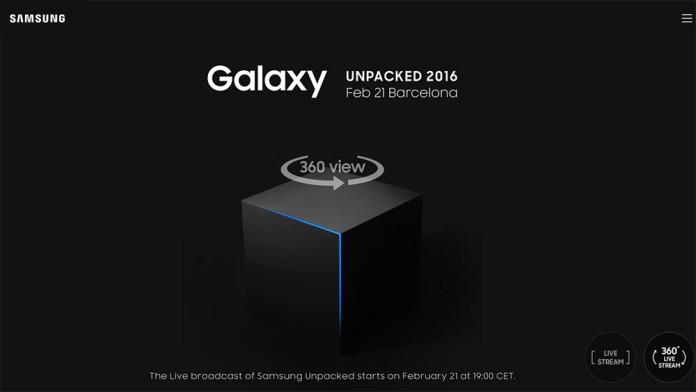 galaxy s7 livestream event