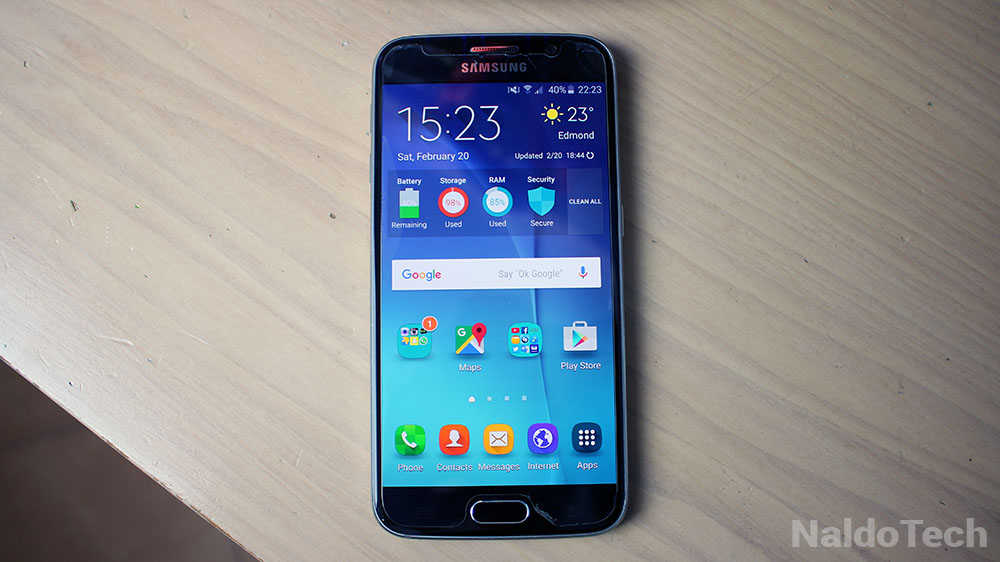 galaxy s7 screen