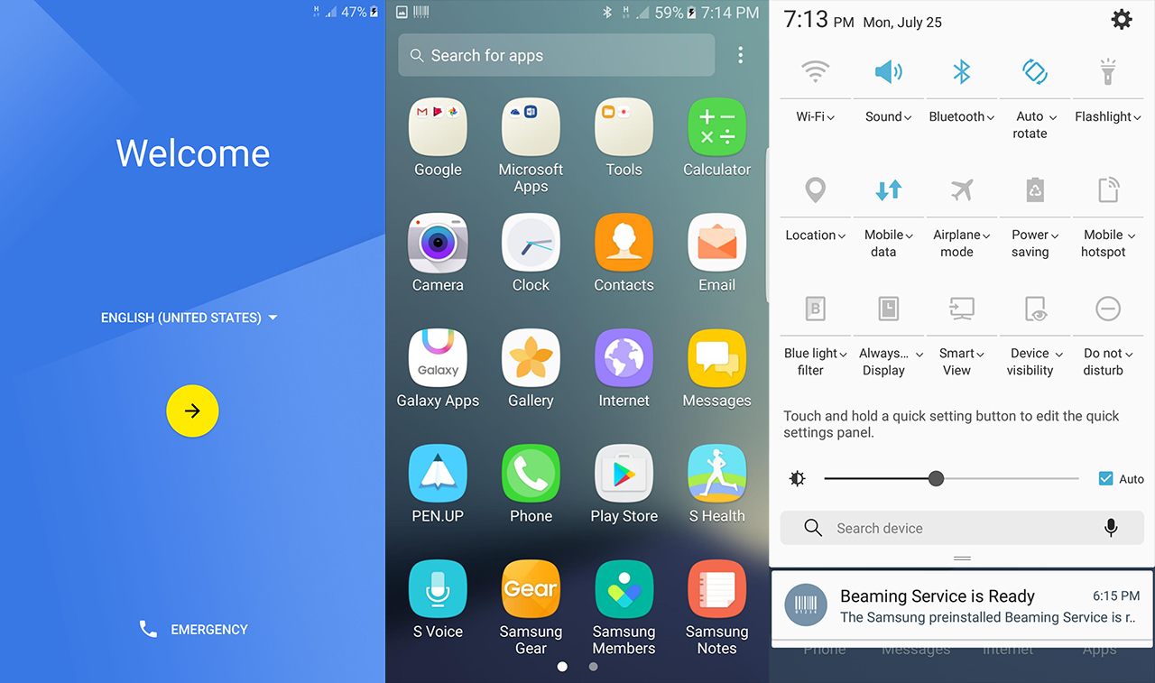 Install Samsung Galaxy Note 7 Ported ROM & Apps on Galaxy