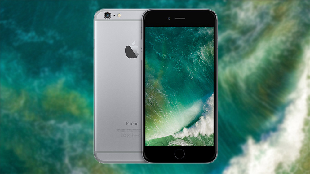Download Ios 10 Stock Wallpaper Green Wave Wallpaper