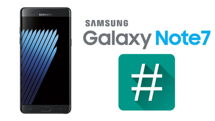 galaxy note 7 root supersu twrp