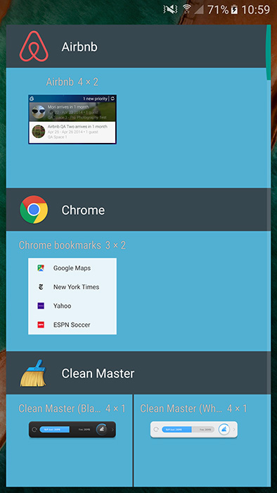 nexus launcher apk widgets