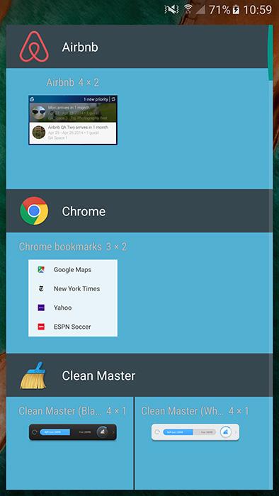 nexus launcher apk widgets