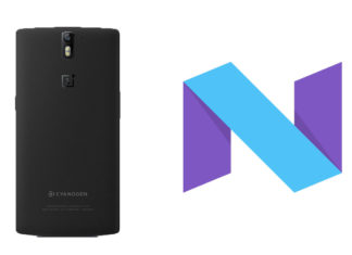 oneplus one android 7.0 nougat custom rom gapps