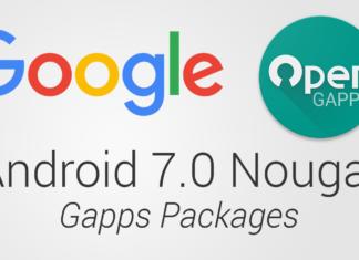 open gapps 7.0 nougat download