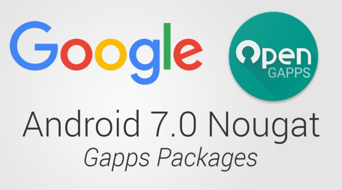 open gapps 7.0 nougat download