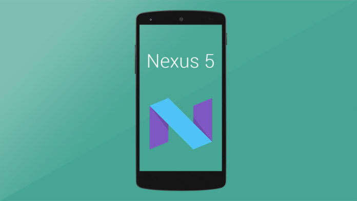 nexus 5 stable nougat rom