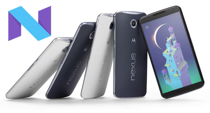 nexus 6 android 7.0 nougat update