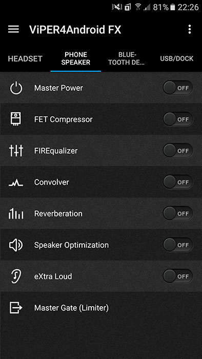 viper4android nougat apk phone speaker