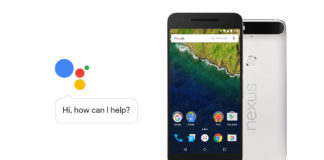 google assistant nexus 6p