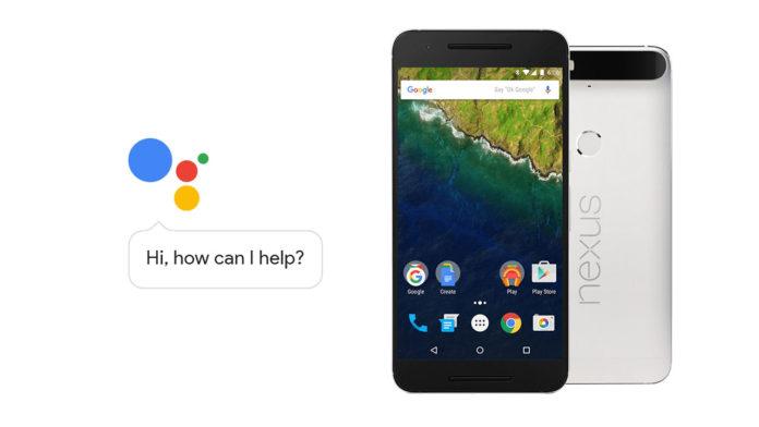 google assistant nexus 6p