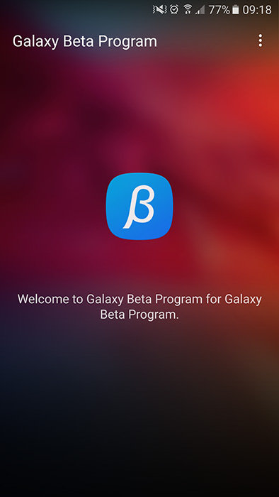 galaxy beta program s7 nougat install