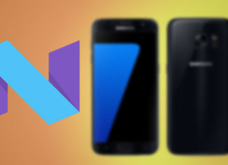 galaxy s7 official nougat firmware odin install
