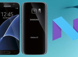 galaxy s7 nougat firmware odin install