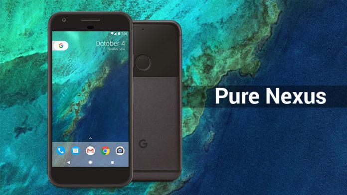 pure nexus rom google pixel