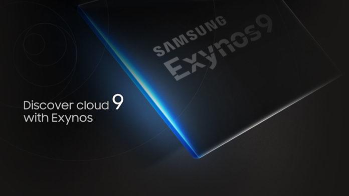 exynos 9 series 8895 galaxy s8