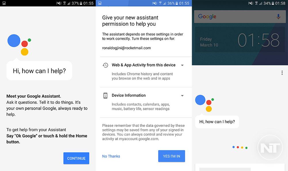 enable google assistant non pixel marshmallow nougat