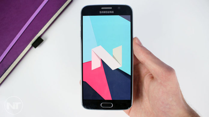 galaxy s6 edge touchwiz nougat firmware download install
