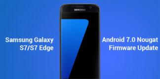 galaxy s7 edge nougat update install