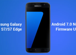 galaxy s7 edge nougat update install