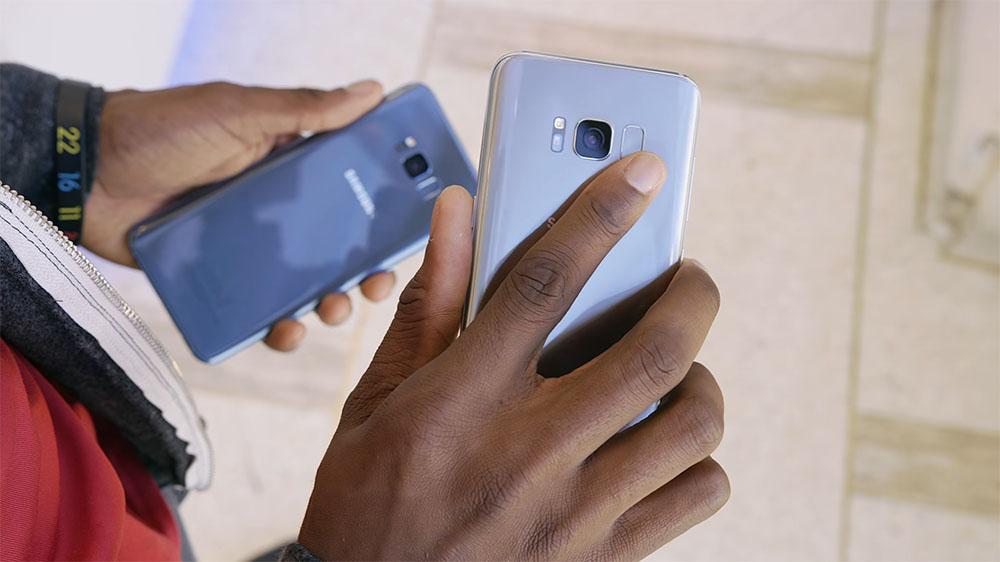 galaxy s8 fingerprint scanner