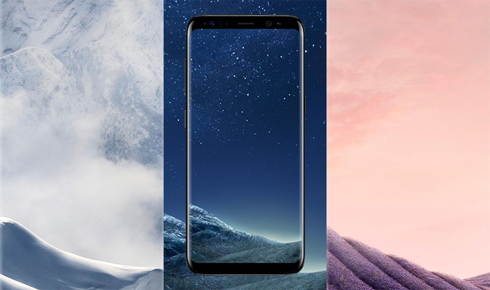 Download Samsung Galaxy S8 And S8 Plus Stock Wallpapers Official