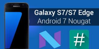 root supersu nougat firmware galaxy s7 s7 edge