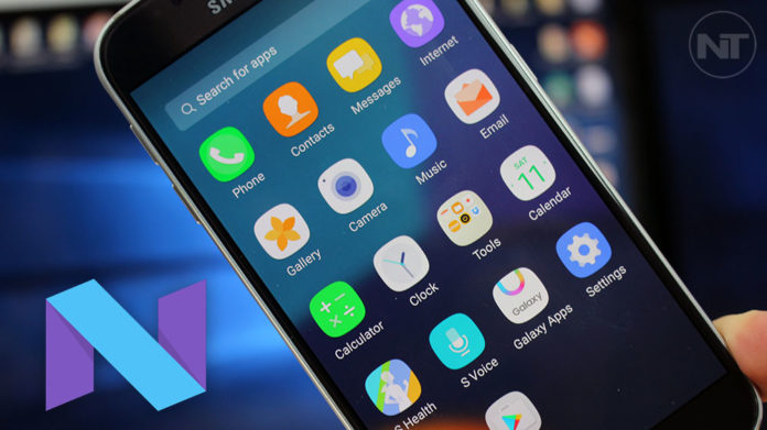 twrp galaxy s6 nougat install