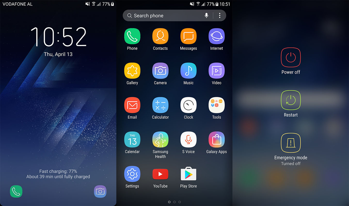 Install All Samsung Galaxy S8 Apps Wallpapers Boot Animation On