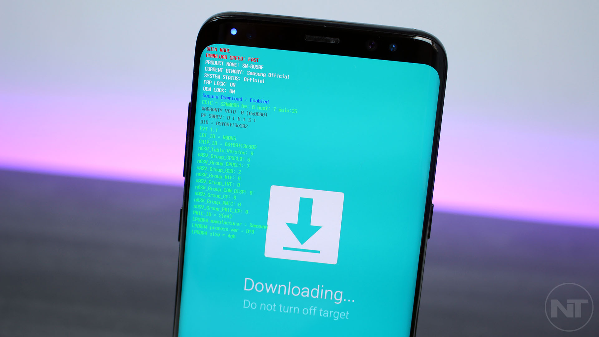 how to enter download mode on samsung galaxy s8 and s8