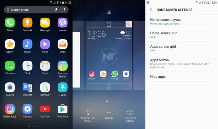 galaxy s8 launcher official download install apk