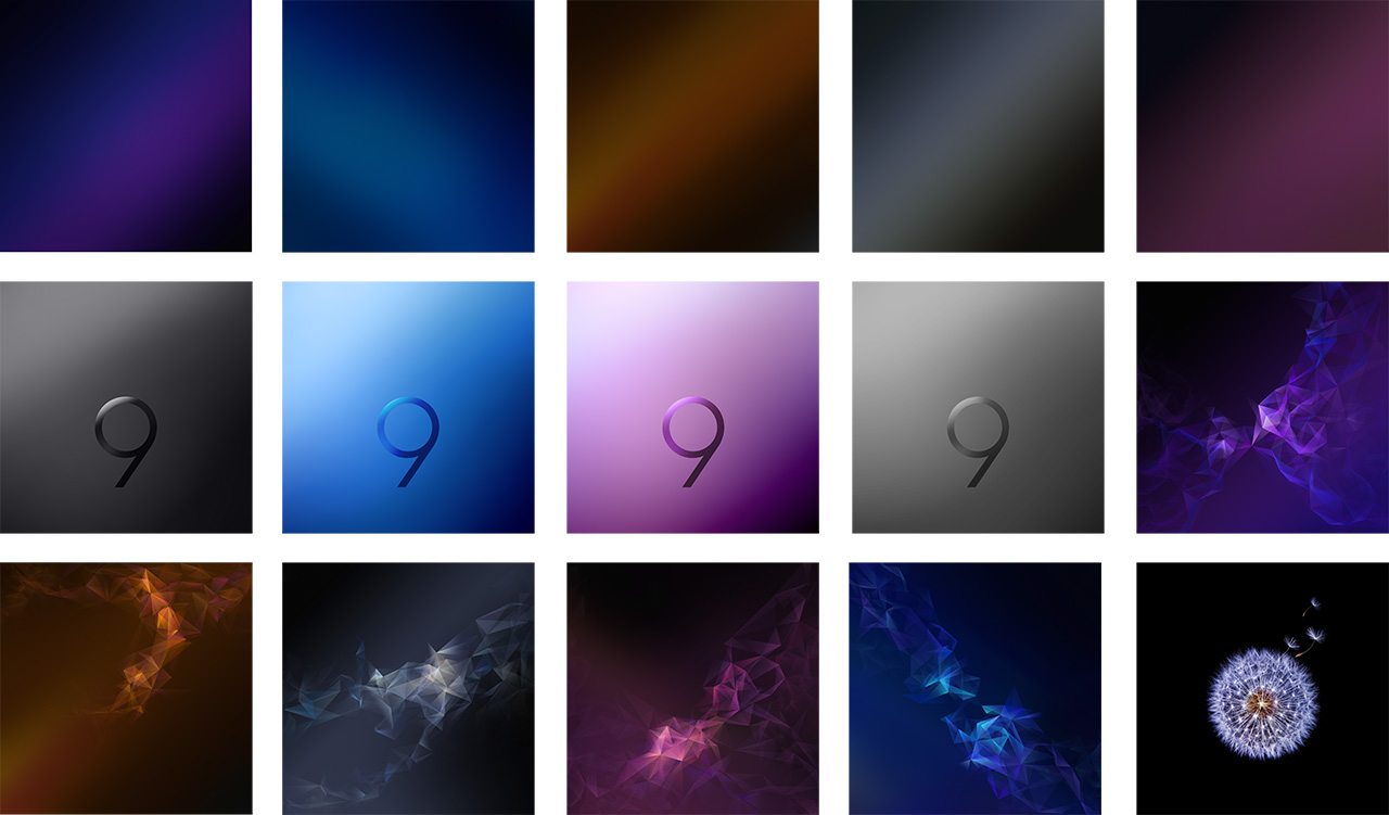 download galaxy s9 stock wallpapers