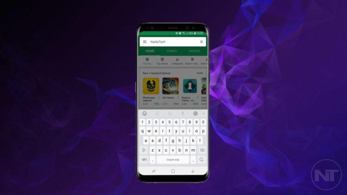 install galaxy s9 keyboard apk