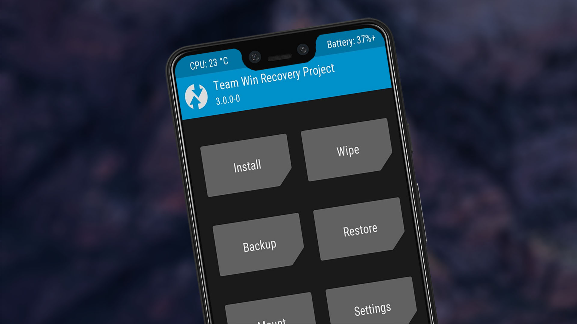 install twrp recovery pixel 3 xl