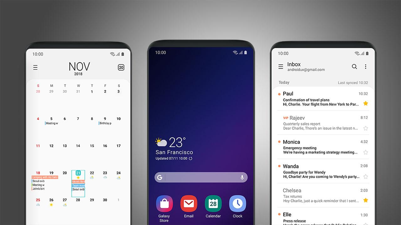 Android Pie Update Samsung