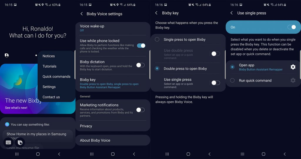 remap bixby to google assistant apk