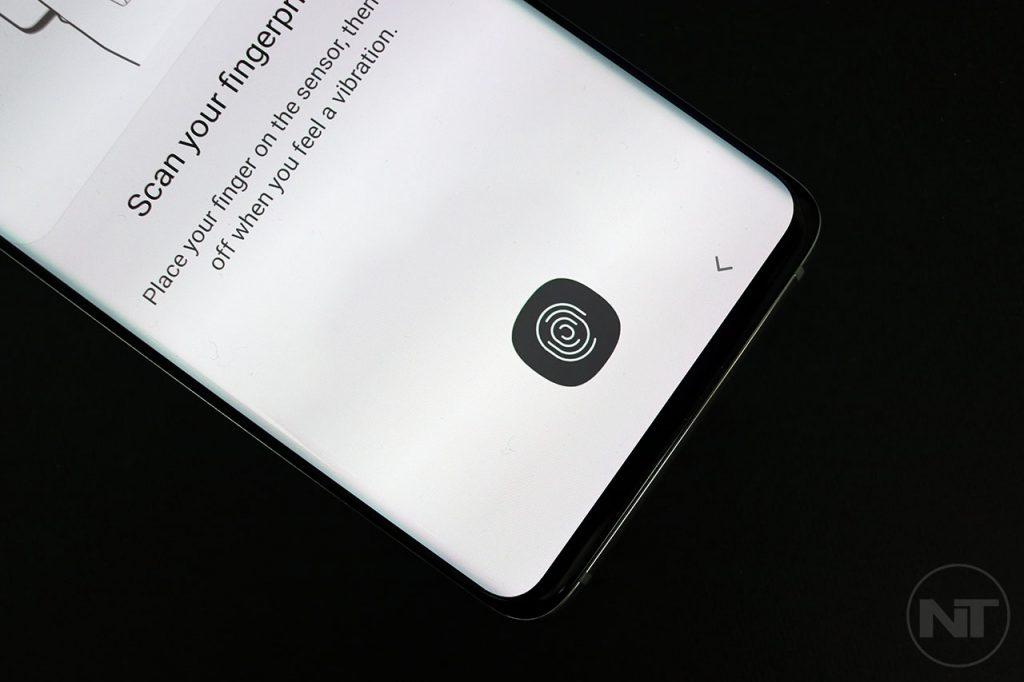 samsung galaxy s10 fingerprint scanner