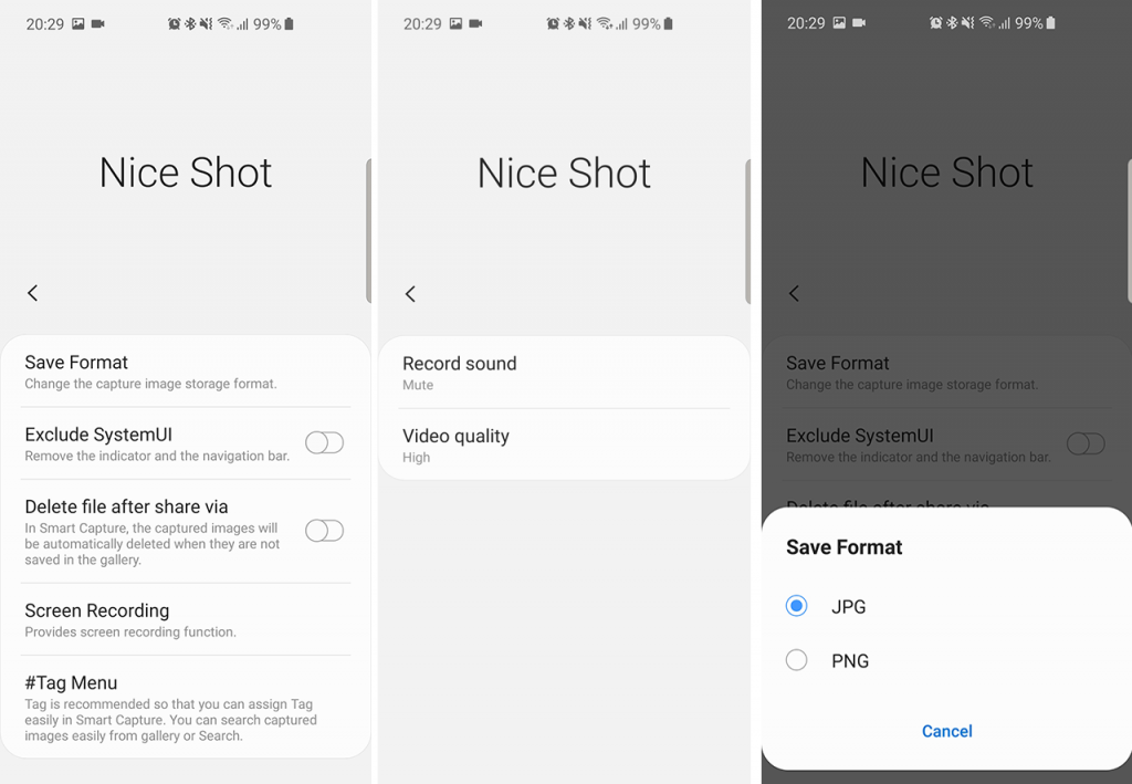 How To Enable Screen Recording on Samsung Phones with Nice