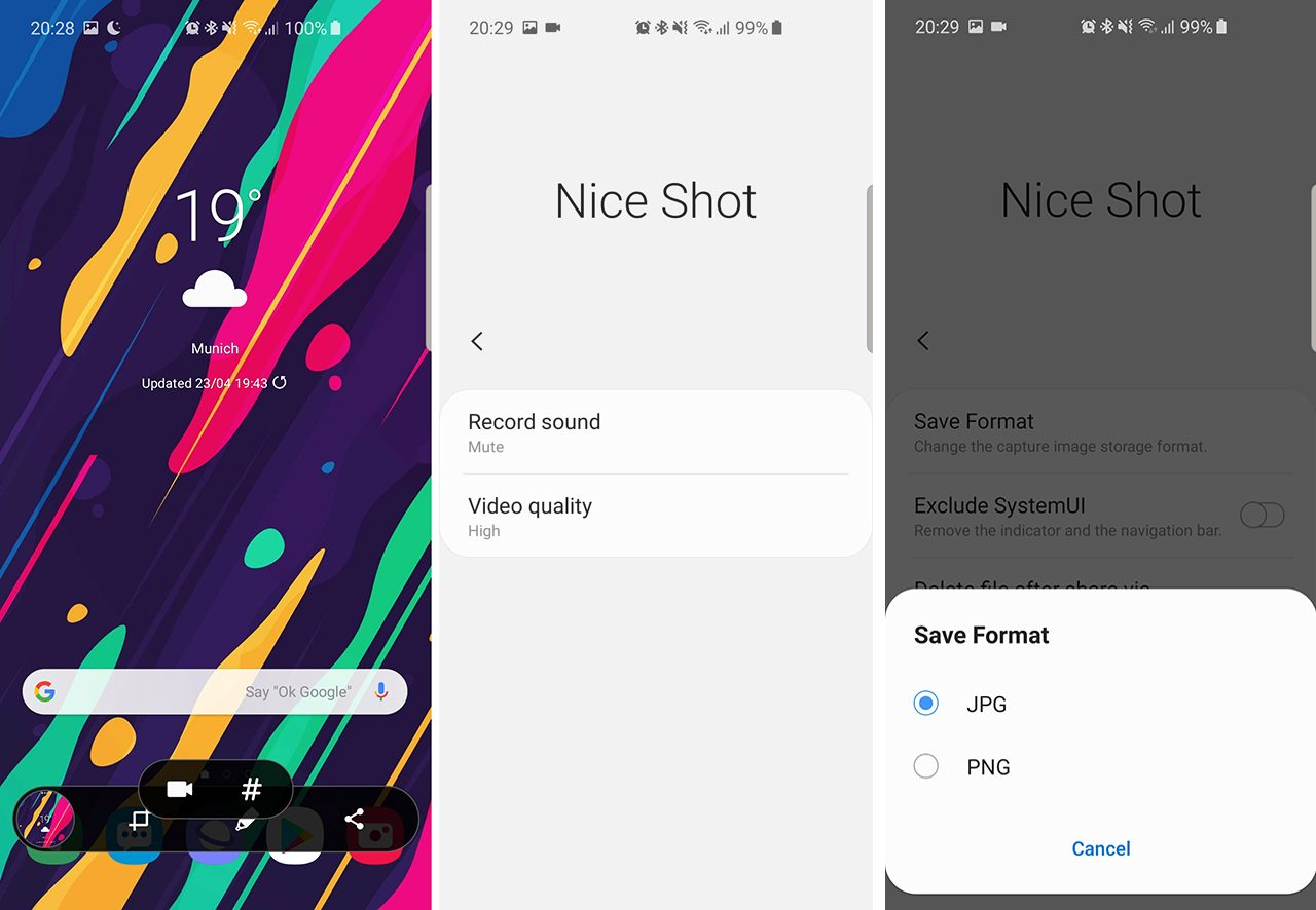 How To Enable Screen Recording On Samsung Phones With Nice Shot Apk Download Naldotech