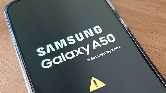 galaxy a50 enter recovery mode