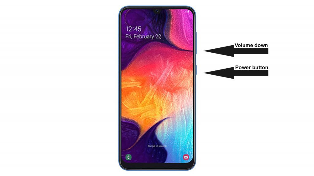 galaxy a50 force reboot
