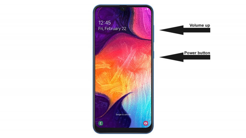 how to enter recovery mode galaxy a50