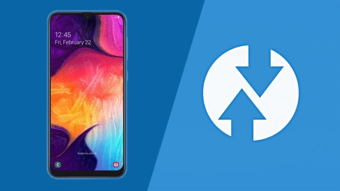 galaxy a50 twrp recovery