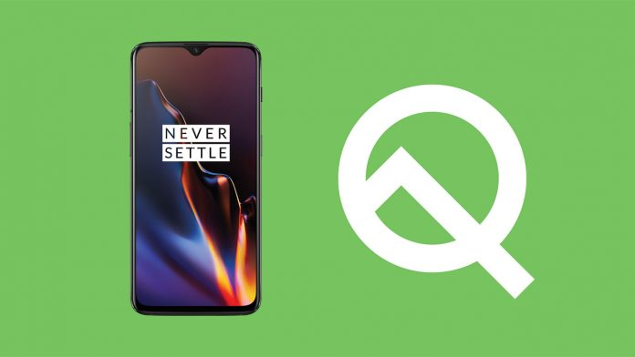 install android q on oneplus 6