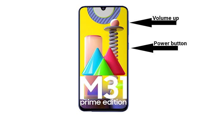galaxy m31 prime recovery keys